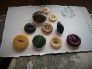Mustard Seeds,Hand Picked Collection of Vintage Buttons